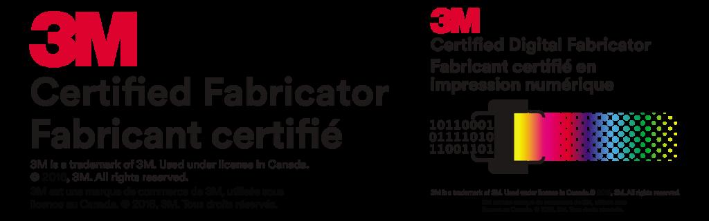3M Certified Fabricator logo
